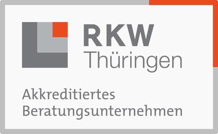 Siegel akkreditiertes Beratungsunternehmen RKW Thüringen